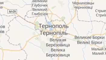 Тернополь - детальная карта