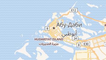 Абу-Даби - детальная карта