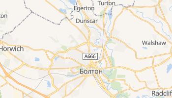 Болтон - детальная карта