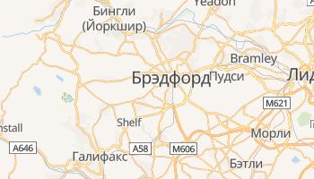 Брэдфорд - детальная карта