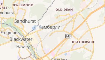 Кемберли - детальная карта