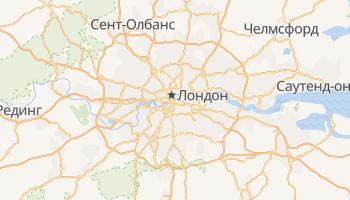 Лондон - детальная карта