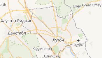Лутон - детальная карта