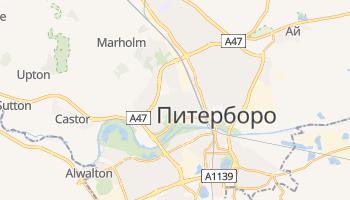 Питерборо - детальная карта