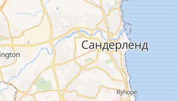 Сандерленд - детальная карта