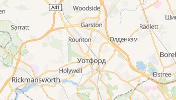 Уотфорд - детальная карта