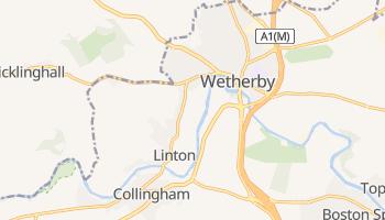 Wetherby - детальная карта