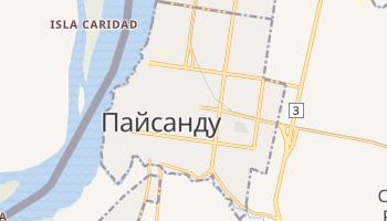 Пайсанду - детальная карта