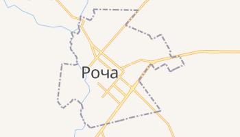 Роча - детальная карта