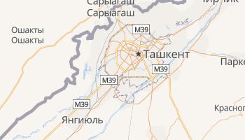 Ташкент - детальная карта