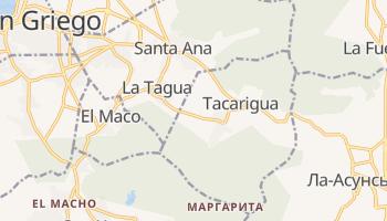 Акаригуа - детальная карта