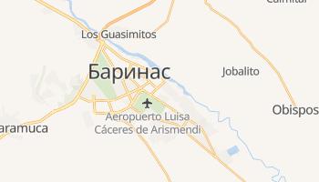 Баринас - детальная карта
