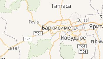 Баркисимето - детальная карта