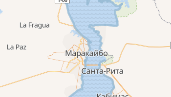 Маракайбо - детальная карта