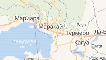 Маракай - детальная карта