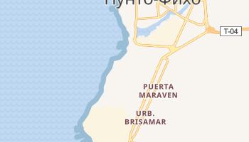 Пунта-Кардон - детальная карта