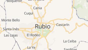 Рубио - детальная карта