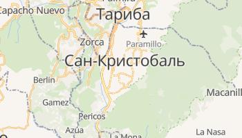Сан-Кристобаль - детальная карта