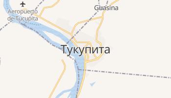 Тукупита - детальная карта