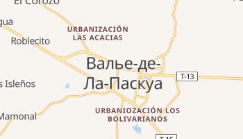 Валье-де-Ла-Паскуа - детальная карта