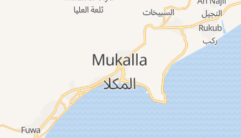Эль-Мукалла - детальная карта