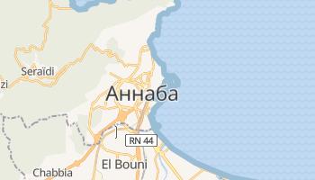Аннаба - детальна мапа