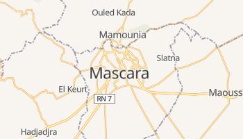Маскара - детальна мапа