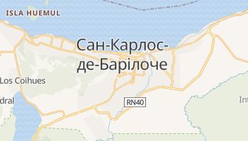 Сан-Карлос-де-Барілоче - детальна мапа