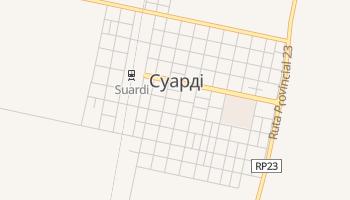 Суарді - детальна мапа
