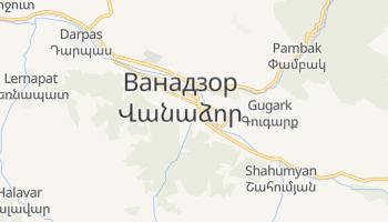 Ванадзор - детальна мапа