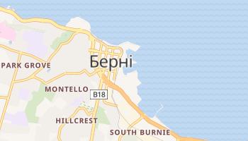 Берні - детальна мапа