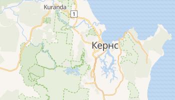 Кернс - детальна мапа