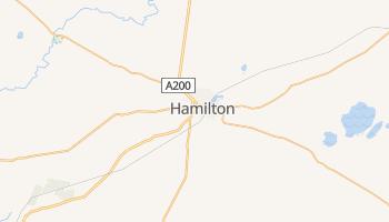 Гамільтон - детальна мапа