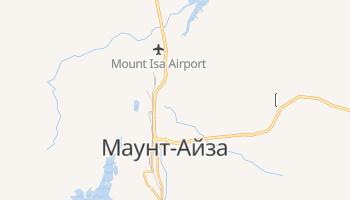 Маунт-Айза - детальна мапа