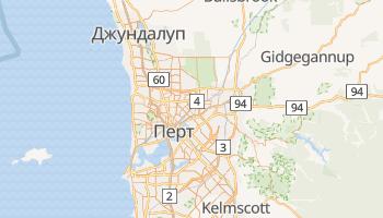 Перт - детальна мапа