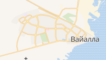 Вайалла - детальна мапа