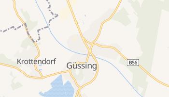 Гюссінг - детальна мапа