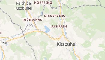 Кіцбюель - детальна мапа