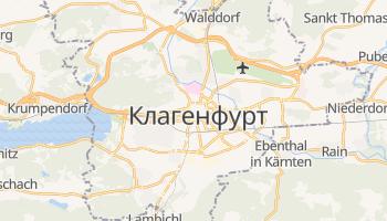 Клагенфурт - детальна мапа