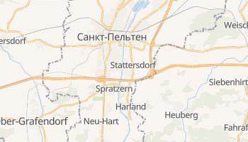 Санкт-Пельтен - детальна мапа