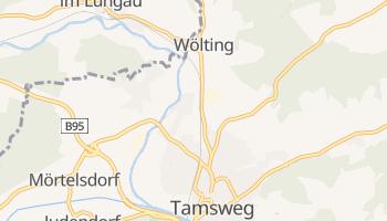 Тамсвег - детальна мапа