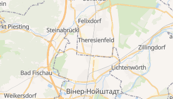Вінер-Нойштадт - детальна мапа
