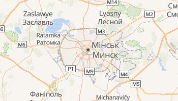 Мінськ - детальна мапа