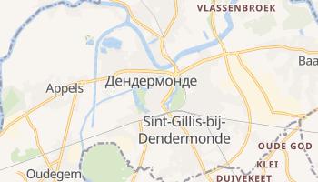 Дендермонде - детальна мапа