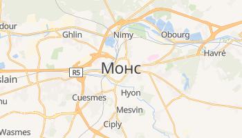 Монс - детальна мапа