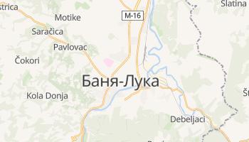 Баня-Лука - детальна мапа