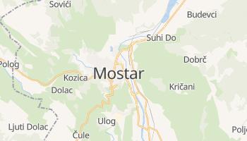 Мостар - детальна мапа