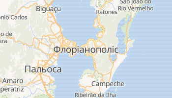 Флоріанополіс - детальна мапа