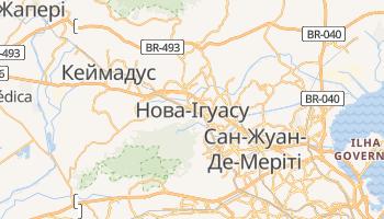 Нова-Ігуасу - детальна мапа