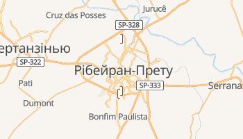 Рібейран-Прету - детальна мапа